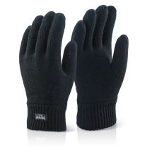 THINSULATE BLACK WINTER GLOVES THERMAL