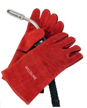 LINCOLN PAIR OF HEAT RESISTANT GLOVE STOPCALOR