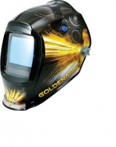 LINCOLN GOLDENARK ELECTRONIC WELDING HELMET