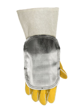 WELDAS HIGH HEAT ALUMINIZED HANDSHIELD (PAIR)