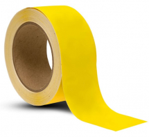 TAPE YELLOW FLOOR MARKING 50MM X 33MTR